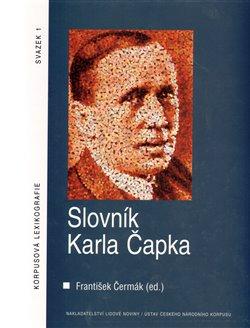 Obálka titulu Slovník Karla Čapka + CD