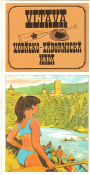 Obálka titulu Vltava : vodácko-tábornická mapa