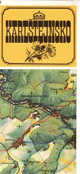 Obálka titulu Karlštejnsko : mapa