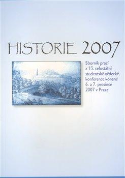 Obálka titulu Historie 2007