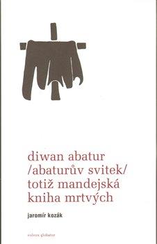 Obálka titulu Diwan Abatur (Abaturův svitek) totiž Mandejská kniha mrtvých