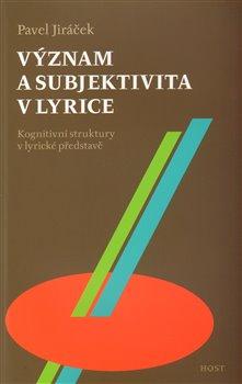 Obálka titulu Význam a subjektivita v lyrice