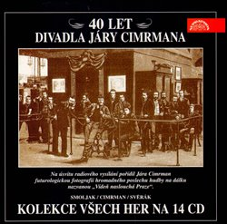 Obálka titulu 40 let Divadla Járy Cimrmana