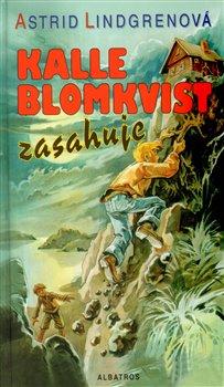 Obálka titulu Kalle Blomkvist zasahuje