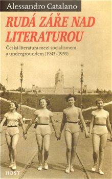 Obálka titulu Rudá záře nad literaturou