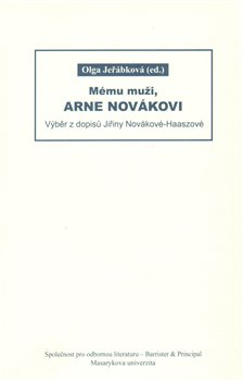 Obálka titulu Mému muži, Arne Novákovi