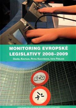 Obálka titulu Monitoring evropské legislativy 2008–2009