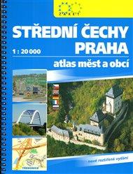 Střední Čechy a Praha 1:20 000