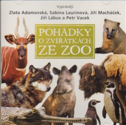 Obálka titulu Pohádky o zvířátkách ze zoo
