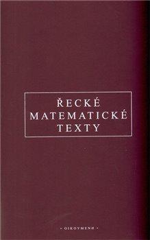 Obálka titulu Řecké matematické texty