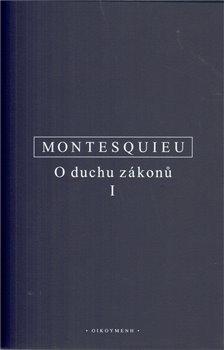 Obálka titulu O duchu zákonů I.