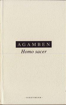 Obálka titulu Homo Sacer