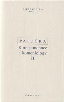 Obálka titulu Korespondence s komeniology II.