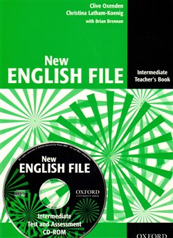 Obálka titulu New English File Intermediate - Teacher´s Book + Tests Resource CD-ROM