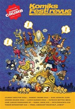 Obálka titulu KomiksFest!revue  04/2009