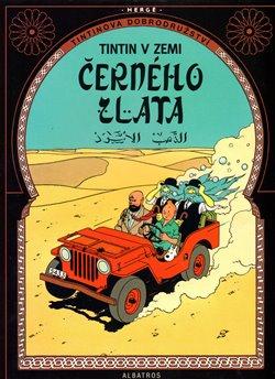 Obálka titulu Tintin v zemi černého zlata
