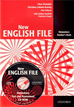 Obálka titulu New English File Elementary Teacher´s Book + Test Resource CD-ROM