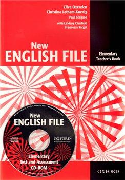 Obálka titulu New English File Elementary Teacher´s Book + Test Resource CD-ROM