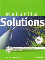 Maturita Solutions Elementary Student´s Book + CD-ROM Czech Edition