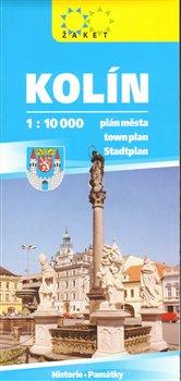 Obálka titulu Kolín - plán města 1:10 000
