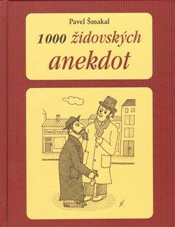 Obálka titulu 1000 židovských anekdot