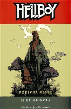 Obálka titulu Hellboy: Podivná místa váz.