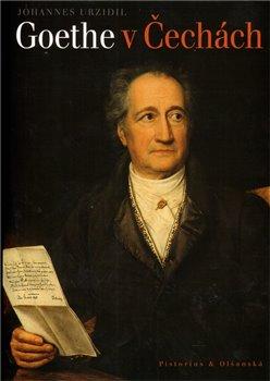 Obálka titulu Goethe v Čechách