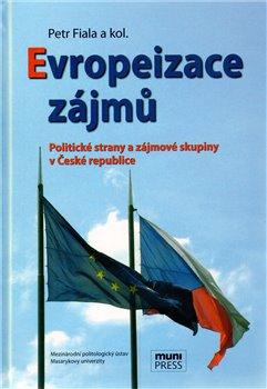 Obálka titulu Evropeizace zájmů