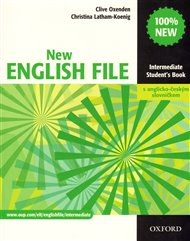 New English File Intermediate Student´s  Book s anglicko-českým slovníčkem