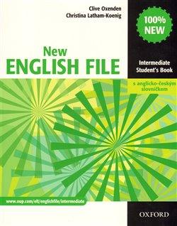 Obálka titulu New English File Intermediate Student´s  Book s anglicko-českým slovníčkem