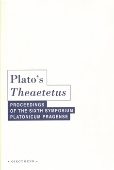 Obálka titulu Plato s Theaeteus