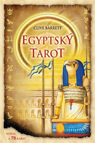 Egyptský tarot / kniha + karty/ - Clive Barret | Booksquad.ink