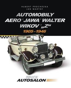 Obálka titulu Automobily Aero, Jawa, Walter, Wikov,