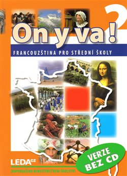 Obálka titulu ON Y VA! 2 učebnice