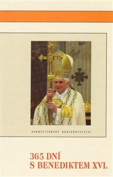 Obálka titulu 365 dní s Benediktem XVI.