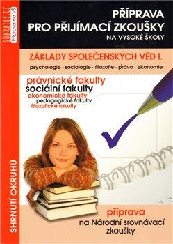 Obálka titulu Základy společenských věd, I. díl