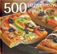 Obálka knihy 500 pizzy, chleby a placky
