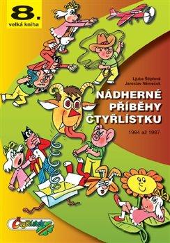 Obálka titulu Nádherné příběhy Čtyřlístku z let 1987 až 1989