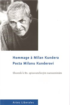 Obálka titulu Pocta Milanu Kunderovi