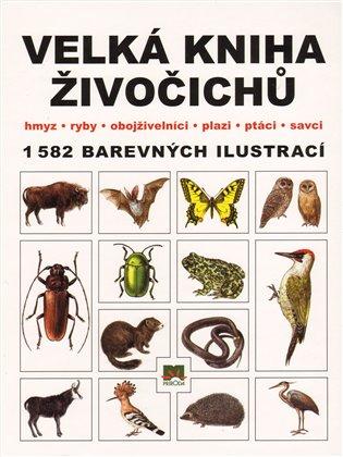 Velká kniha živočichů:hmyz - ryby - obojživelníci - plazi - ptáci - savci - Dušan Matis | Booksquad.ink