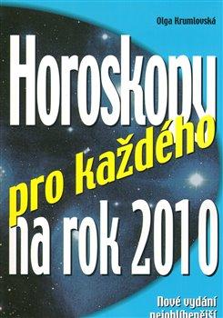 Obálka titulu Horoskopy pro každého na rok 2010