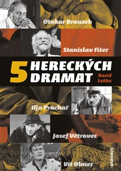 Obálka titulu 5 hereckých dramat