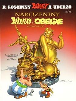 Obálka titulu Narozeniny Asterixe a Obelixe