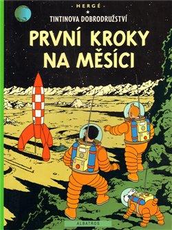 Obálka titulu Tintin - První kroky na Měsíci