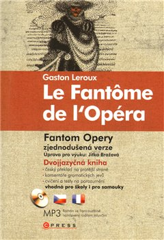Obálka titulu Gaston Leroux Fantom opery/Le Fantôme de l'Opéra