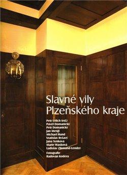 Obálka titulu Slavné vily Plzeňského kraje