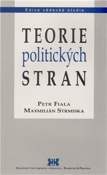 Obálka titulu Teorie politických stran
