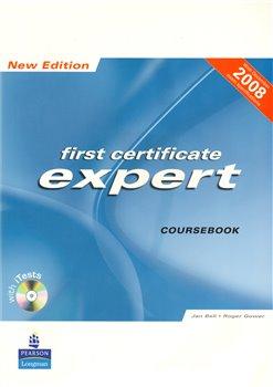 Obálka titulu First certificate expert Course book