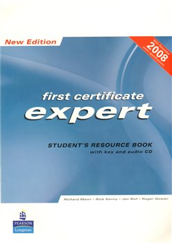 Obálka titulu First certificate expert student´s resource book