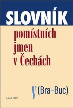 Obálka titulu Slovník pomístních jmen v Čechách V.